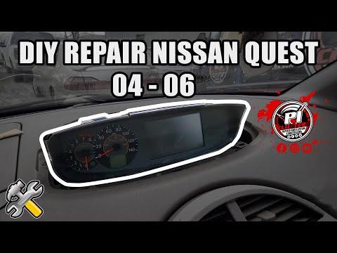 DIY REPAIR 04-06 NISSAN QUEST CLUSTER!