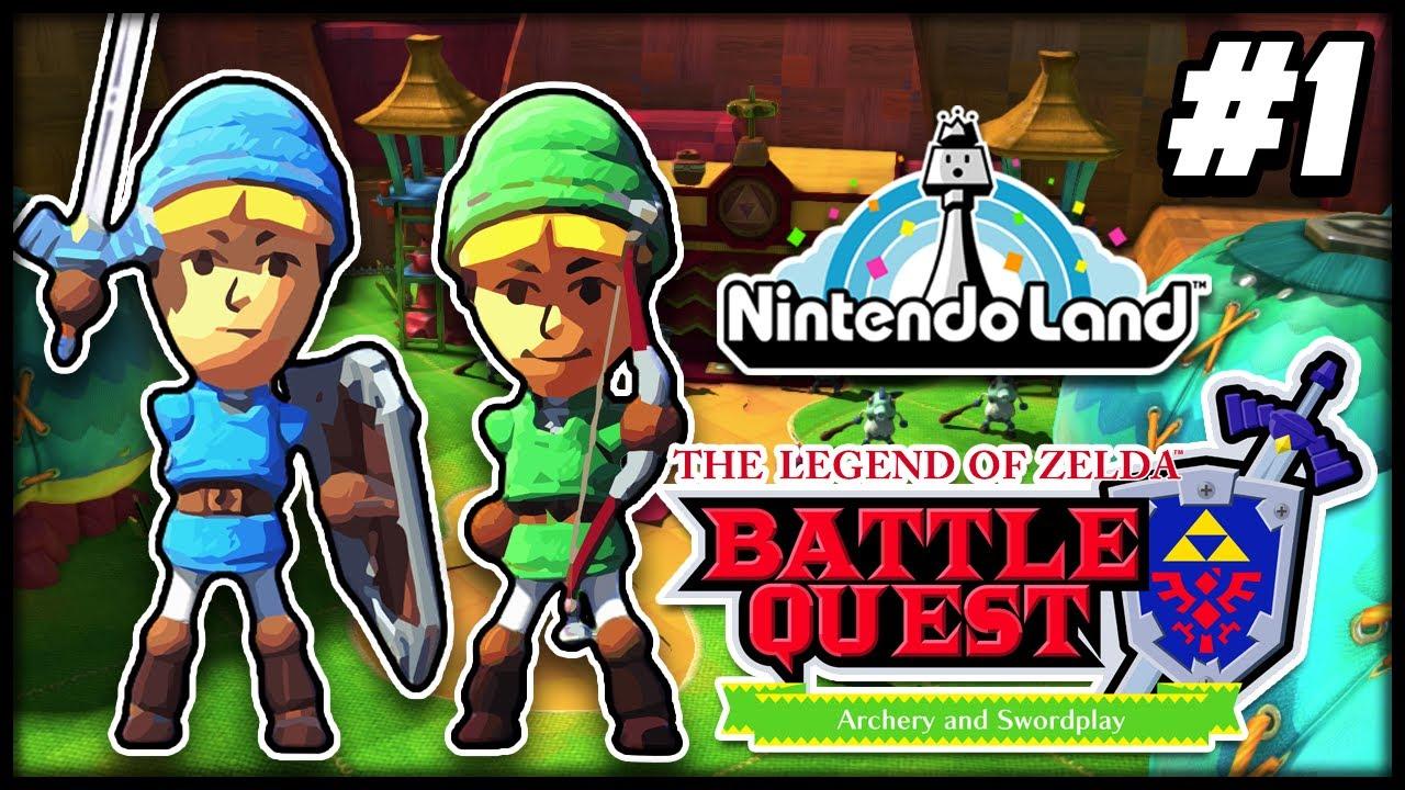 Nintendo Land (Wii U): The Legend of Zelda - Battle Quest ...