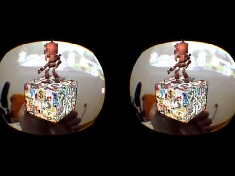 VR ONE AR android app for hololenslike augmented reality