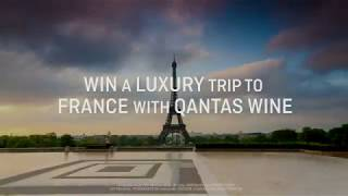 Win a trip to France with Qantas Wine