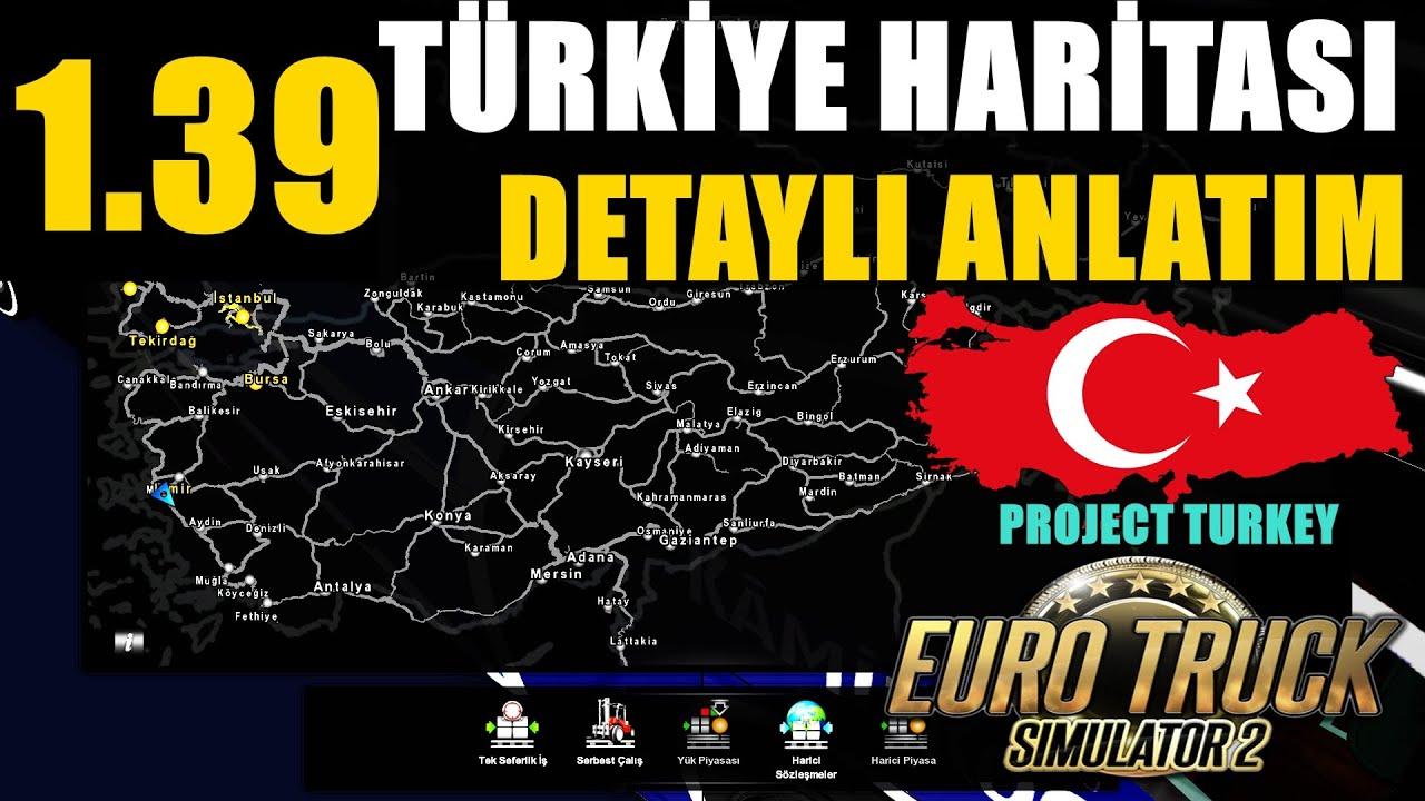 İSTANBUL HARİTASI GELDİ !! Euro Truck Simulator 2 Black Sea DLC