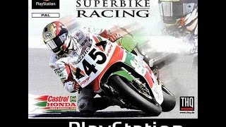 Castrol Honda Superbikes PSX Gameplay
