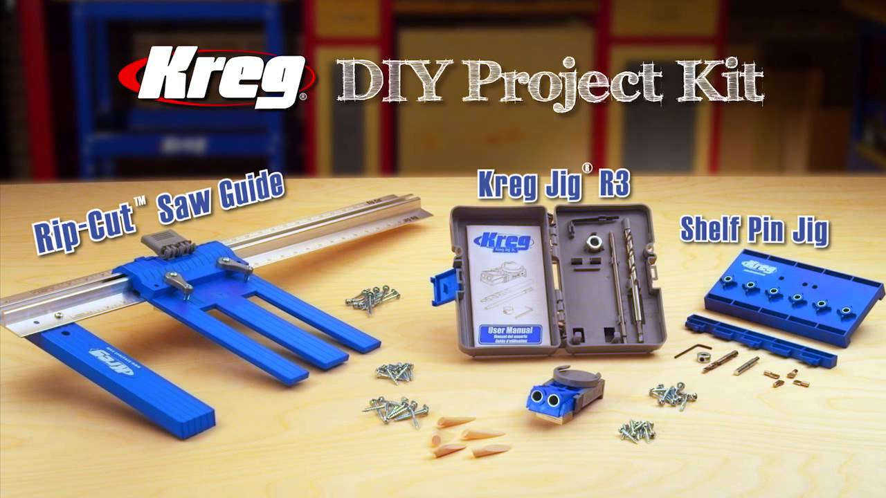 Tools For Diy Projects Kreg Diy Project Kit Youtube