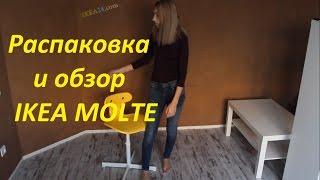 Розпакування та огляд IKEA MOLTE (стілець)