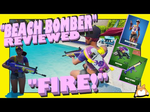 "complete-honest-review:-fortnite-""beach-bomber""-skin-+-""brite-stars""-wrap-+-payload-glider-/itemshop"