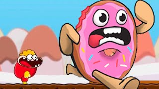 I Eat A Giant Donut!!! Eat The Donut Gameplay
