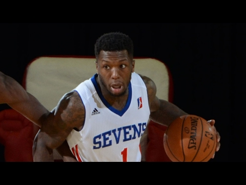 Nate Robinson Scores His First Bucket As An 87er From Downtown