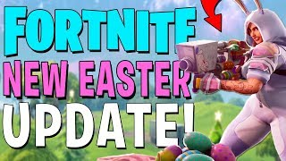 THE EGG LAUNCHER IS AMAZING!! *NEW* FORTNITE BATTLE ROYALE EASTER UPDATE!