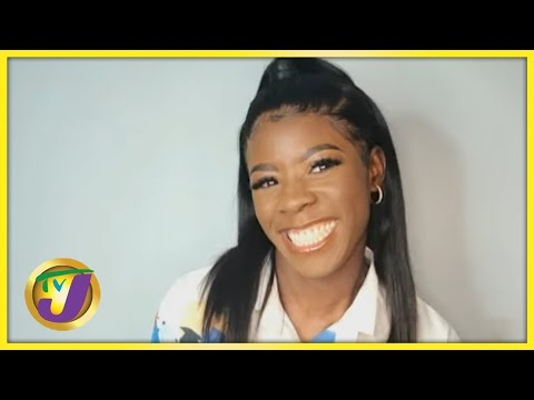 Jamaican Sprinter Shericka Jackson   TVJ Smile Jamaica