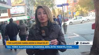 Türk Kahvesinin Yanında İkram Edilen Su