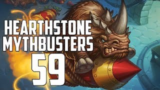 Hearthstone Mythbusters 59 - BOOMSDAY SPECIAL!