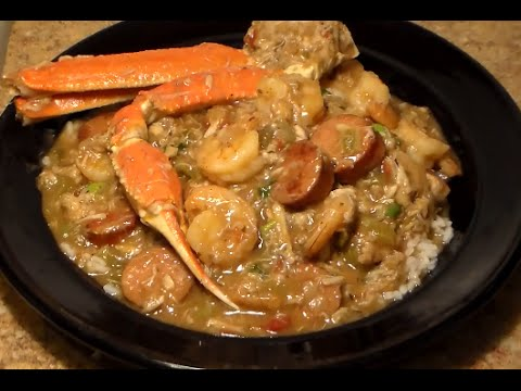 chicken shrimp and crab gumbo recipe