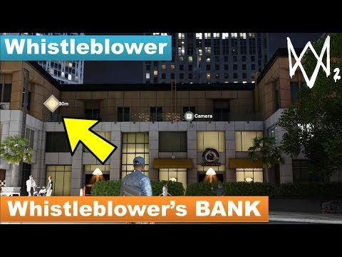 Watch Dogs 2 - How to Investigate the Whistleblower's Bank [Whistleblower]