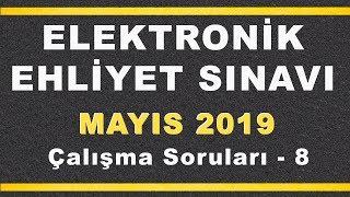 MAYIS 2019 ELEKTRONİK Ehliyet Sınav SORULARI ve CEVAPLARI - 8