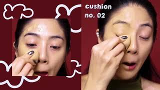 แต่งหน้าลุคสวยแซ่บ ด้วย CHY Y2 คุชชั่นโฮยอน
