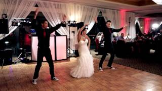 Mother & Teenage Sons (14 & 15) Epic Dance