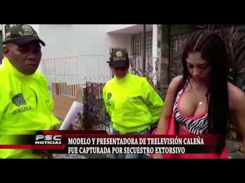 JOVEN MODELO Y PRESENTADORA CAPTURADA EN CALI. thumbnail