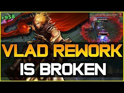 VLADIMIR REWORK IS BROKEN - Jungle Gameplay | League of Legends