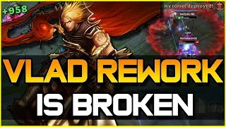 VLADIMIR REWORK IS BROKEN - Jungle Gameplay | League of Legends