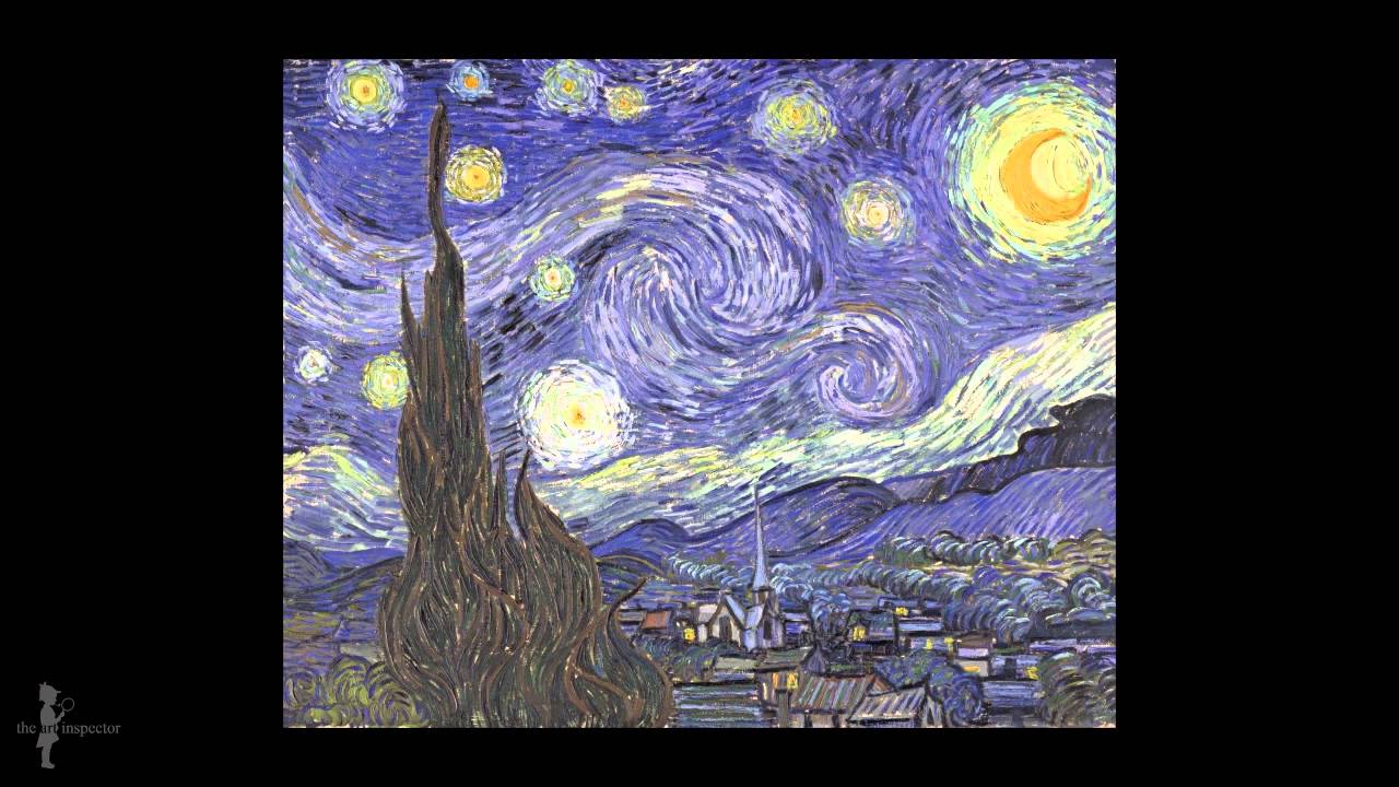 vincent van gogh sternennacht youtube. Black Bedroom Furniture Sets. Home Design Ideas