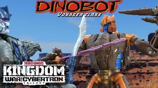 Stop Motion Review 127 - Kingdom Dinobot