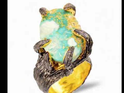 Handmade art jewelry wax  master modeling