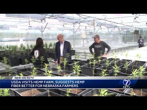 USDA under secretary visits hemp farm, listens to challenges farmers face