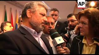 Press conference; comment by Iranian delegate and OPEC Sec Gen