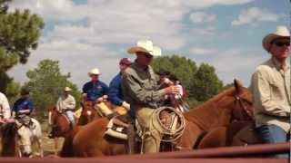 Short music video from Indian Head Trail Ride 2012