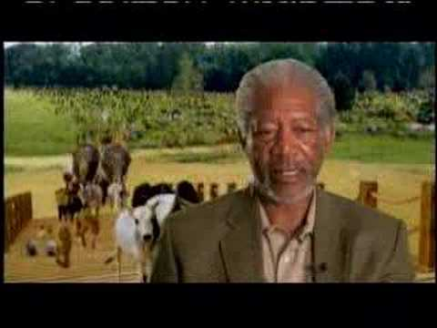 Evan Almighty Steve Carells Water Character Ark Youtube