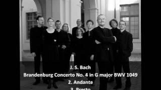 J. S. Bach - Brandenburg Concerto No. 4 in G major BWV 1049 (2/2) - Musica Antiqua Köln