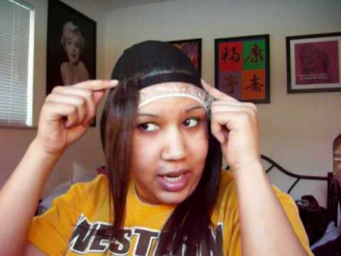 how to make a quick weave wig youtube