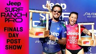 Filipe Toledo, Johanne Defay Earn Long-Sought Jeep Surf Ranch Pro Victories | POST SHOW