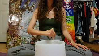 Forty Six & 2 - TOOL - with 432hz Crystal Singing Bowl