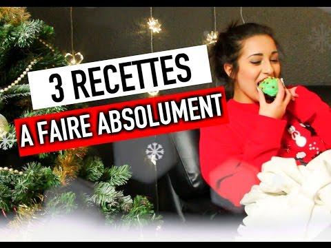 3 recettes de Noël A FAIRE ABSOLUMENT ! – #ChristmasHoria
