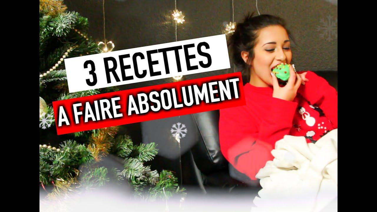 3 recettes de Noël A FAIRE ABSOLUMENT ! - #ChristmasHoria