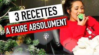 3 recettes de Noël A FAIRE ABSOLUMENT ! - #ChristmasHoria thumbnail