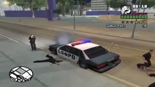 GTA San Andreas Попасть в тюрьму при аресте как в SA MP на RP серверах | Prison | Cleo Mod
