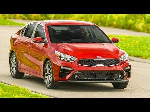 Kia Forte | Currant Red | Driving, Interior, Exterior (US Spec)