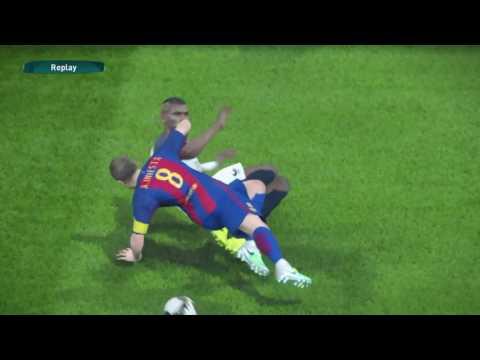HIGHLIGHTS: PES 2017 Demo - France vs Barcelona