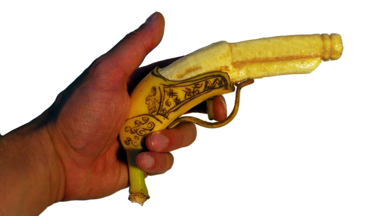 How to Make a Banana Pistol Gun