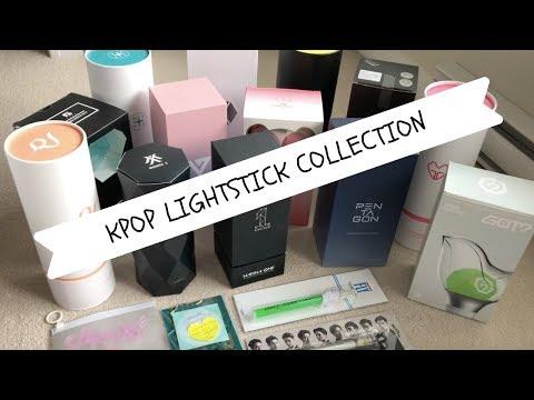 my-kpop-lightstick-collection-2019♡♡