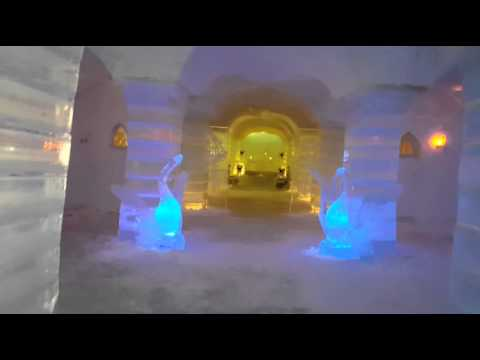 Ice Hotel  Norway Northern Lights