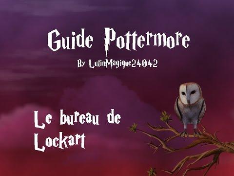 Guide Pottermore // Le bureau de Lockart...