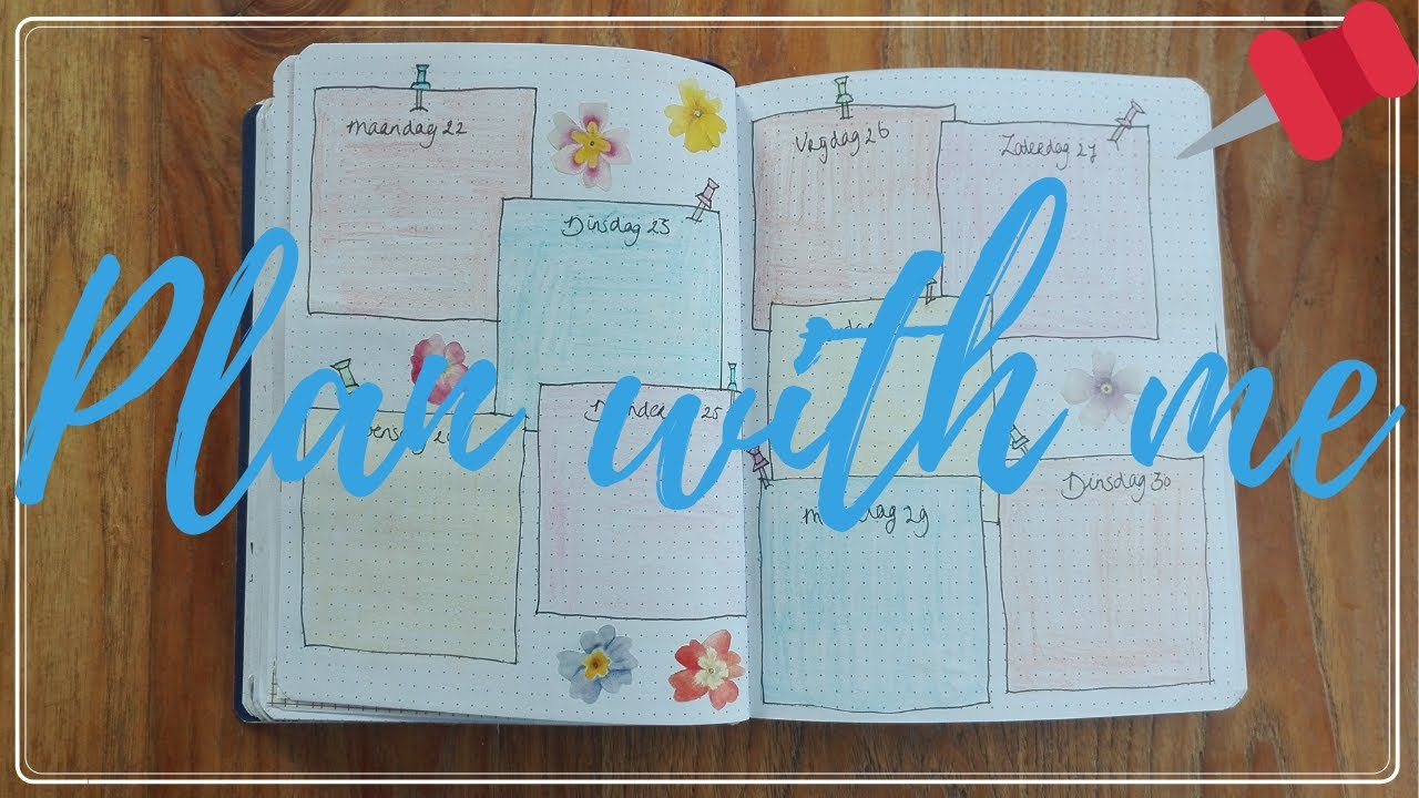 HOW TO: PLAN WITH ME JUNE | WEEK 26 LAY-OUT BULLET JOURNAL