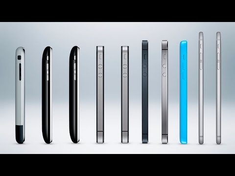 Thumbnail: History of the iPhone