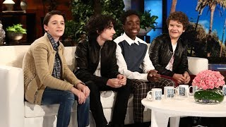 Cast from 'Stranger Things' Talk Meeting President Obama