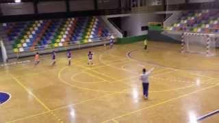 Partido de futbol sala interpontevedra-ancoradouro