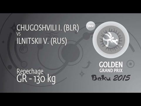 Repechage GR - 130 Kg: I. CHUGOSHVILI (BLR) Df. V. ILNITSKII (RUS), 4-0