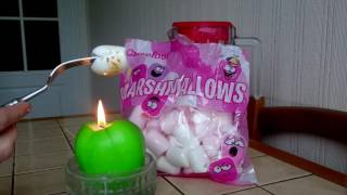 Жарим зефирки (Маршмеллоу/Marshmallows) дома